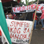 SUMIFRU banana packing plant workers go on strike