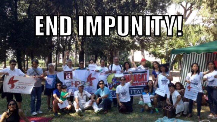 Eng impunity! -- ICHRP Rome